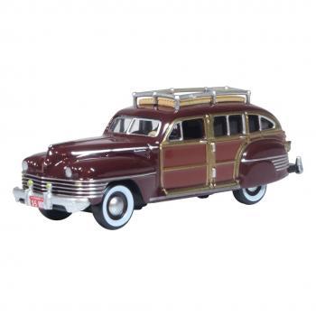 Oxford 87CB42001 - Chrysler Woody Wagon 1942